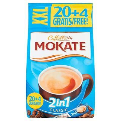 Mokate Caffetteria 2in1 Classic lösliches Kaffeepulver 336 g (24 x 14 g)