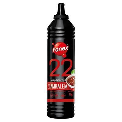 Fanex Würzige Sauce mit Sambal 1 kg