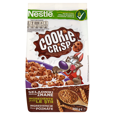 Nestlé Cookie Crisp Frühstückscerealien 250 g