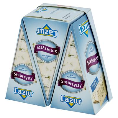 Lazur Silbriger Käse, 100 g Portion 3 Stück