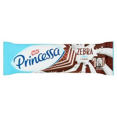 Princessa Zebra Kakaowaffel mit Milchcreme geschichtet 37 g 30 Stück