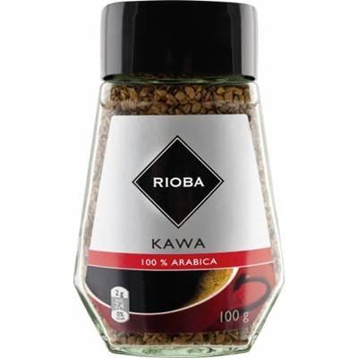 Rioba 100% Arabica Instant gefriergetrockneter Kaffee 6 x 100 g