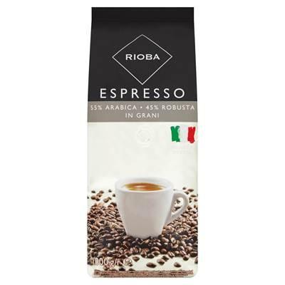 Rioba Espresso gerösteter Kaffee, 1 kg