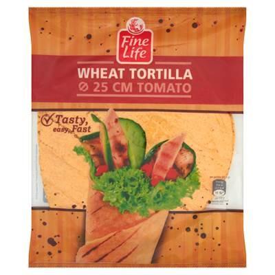 Fine Life Tomaten-Weizen-Pfannkuchen 25 cm 286 g (4 Stück)