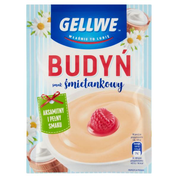 Gellwe Pudding mit Sahnegeschmack 40 g