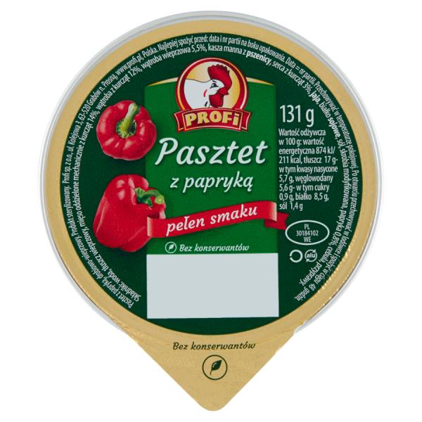 Profi Pastete mit Paprika 131 g