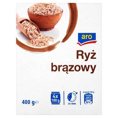 Reis Braun 400 g 6 Stück