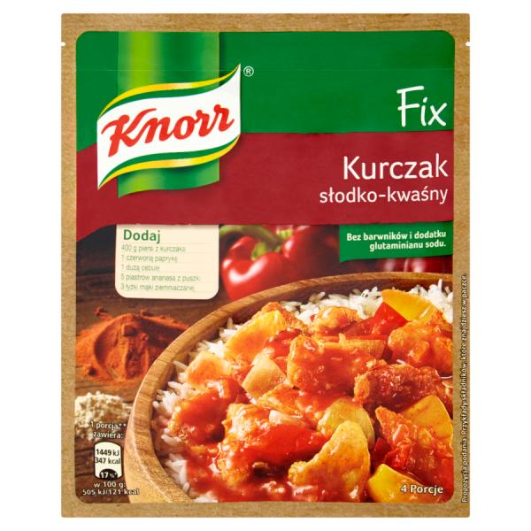 Knorr Fix Hühnchen süß-sauer 64 g