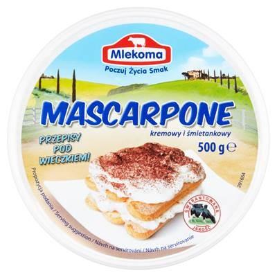 Mlekoma Mascarpone sahnig und cremig 500 g