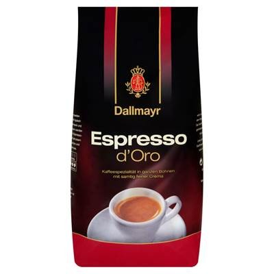 Dallmayr Espresso d'Oro Kaffeebohnen 1000 g