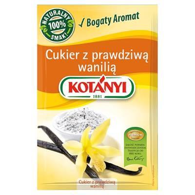 Kotányi Zucker mit echter Vanille 10 g