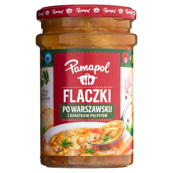 Pamapol Kutteln nach Warschauer Art mit Fleischbällchen 500 g