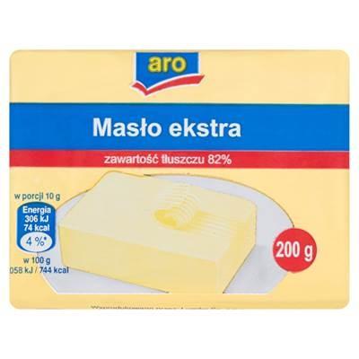 Aro Butter Extra 200 g 9 Stück