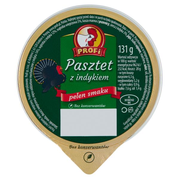 Profi Pastete aus Putenfleisch 131 g