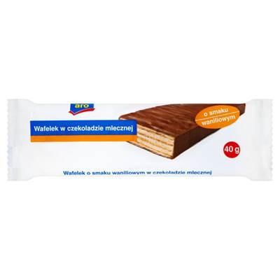 Waffel aus Milchschokolade mit Vanillegeschmack 40 g 20 Stück
