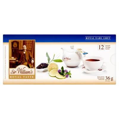 Sir William's Royal Taste Royal Earl Grey Tee 36 g (12 Beutel)