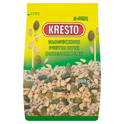 Kresto Sonnenblumenkerne Kürbiskerne Pinienkerne 300 g