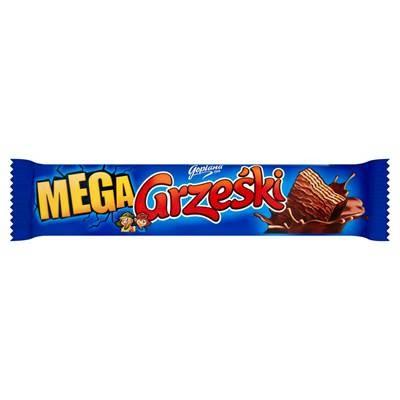Waffelriegel Grzeski Mega Schokolade Goplana 48G 32 Stück
