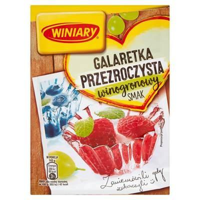 Winiary Gelee mit Traubengeschmack 71 g