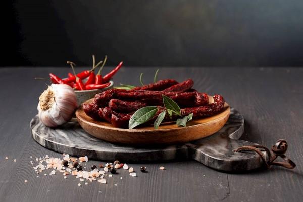 Peperoni Kabanossi vom Wildschwein Leśniczówka Kabanos pepperoni z dzika 160g