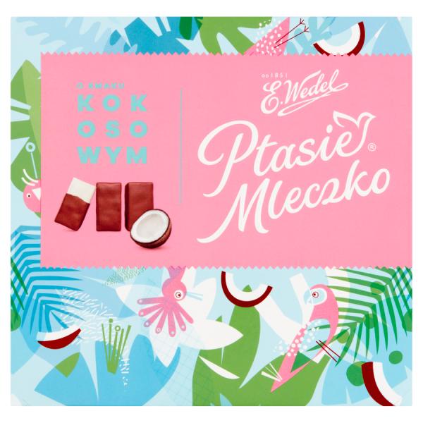E. Wedel Ptasie Mleczko Kokos 380 g