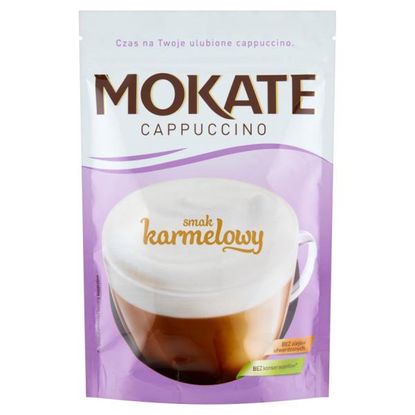 Mokate Cappuccino smak karmelowy 110 g