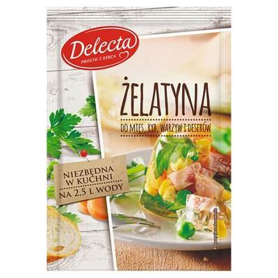 Delecta Speise- Gelatine aus Schweinefleisch 50 g