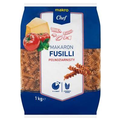 Makro Chef Makaron fusilli pelnoziarnisty 1 kg