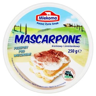 Mlekoma Mascarpone sahnig und cremig 250 g