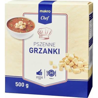 Makro Chef Weizen Croutons 500g