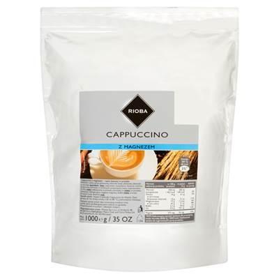 Rioba Cappuccino mit Magnesium - Kaffeepulvergetränk 1000 g