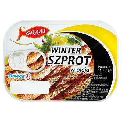 Graal Wintersprotte in Öl 110 g 3 Stück