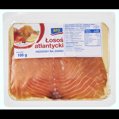 Aro kaltgeräucherter Lachs 100g