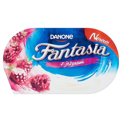 Danone Fantasia Creme Joghurt mit Brombeeren 122 g 12 Stück