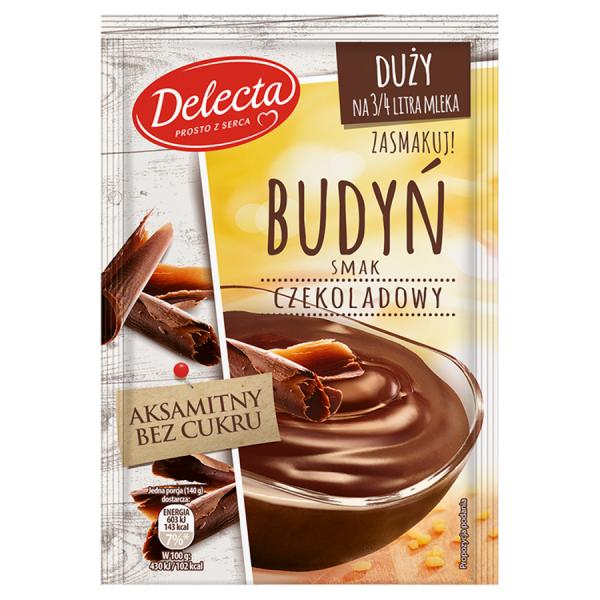 Delecta Pudding Schokoladengeschmack 64 g