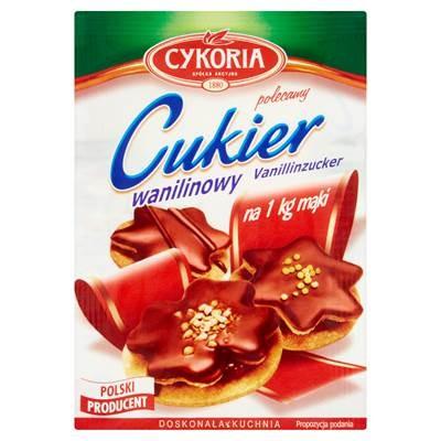 Cykoria Vanillezucker 32 g 5 Stück