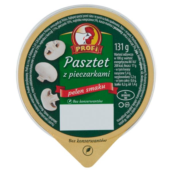 Profi Pastete mit Champignons 131 g