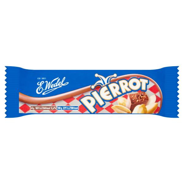 E. Wedel Pierrot Erdnussriegel in Milchschokolade 45 g