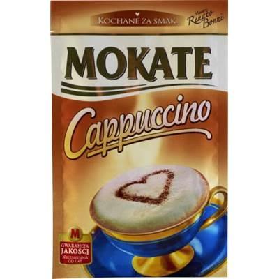 Mokate Cappuccino mit belgischer Schokolade 15 g 10 Stück