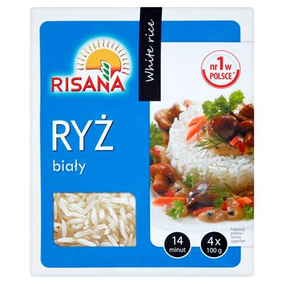 Risana Weißer Reis 400 g (4 Beutel)