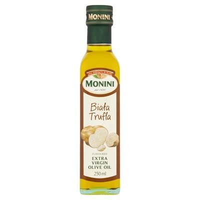 Monini Aaromatisiertes natives Olivenöl extra mit weißem Trüffelgeschmack 250 ml