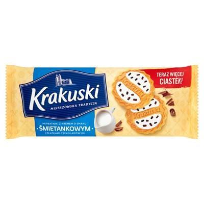 Kekse Krakuski Sahne-Geschmack 200G