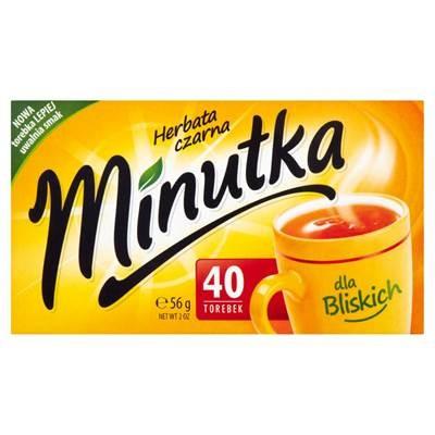 Minutka Schwarzer Tee 56 g (40 Beutel)