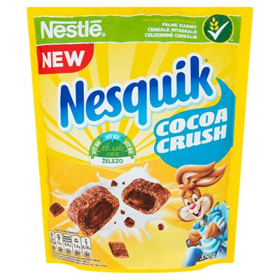 Nestlé Nesquik CocoaCrush Frühstückscerealien 350 g