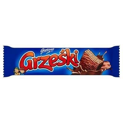 Goplana Waffelriegel Grzeski Schokolade 36G 36 Stück