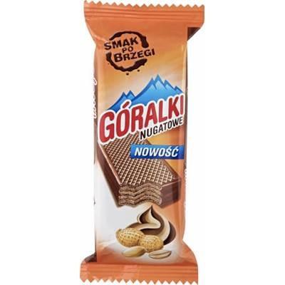 Waffelriegel Goralki Nougat 50G 36 Stück
