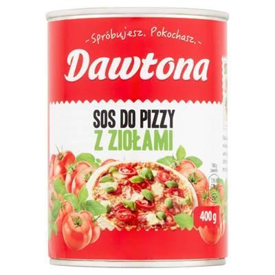 Dawtona Pizzasauce mit Kräutern 400 g