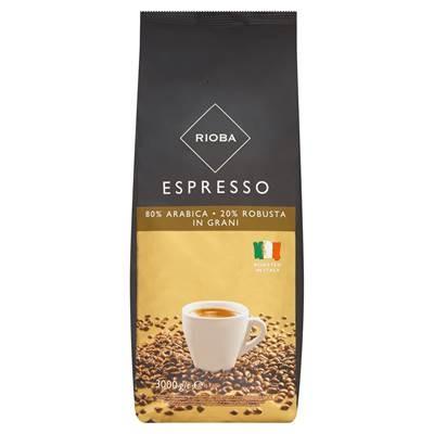 Rioba Espresso Geröstete Kaffeebohnen 3 kg