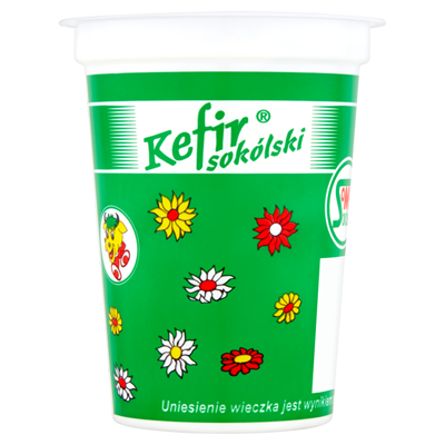 Mlekpol Sokolka Sokolski Kefir 3% 400 g
