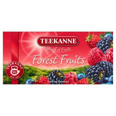 Teekanne World of Fruits Forest Fruits Eine Mischung aus Früchtetees 50 g (20 Beutel)